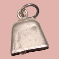 Awesome Sterling BELL Vintage Charm