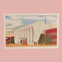 1934 Chicago Worlds Fair Exposition Administration Building Postcard