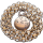 Fabulous Victorian Book Chain Shamrock Clover Locket Necklace - Bookchain