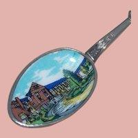 UNIVERSITY OF MICHIGAN 150th Anniversary 1960s Enamel Vintage Spoon