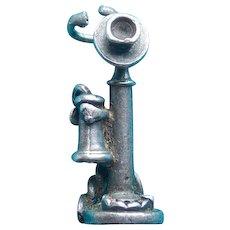 Sterling Candlestick Phone Vintage Charm