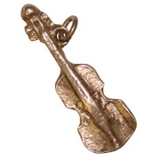 Awesome Sterling CELLO Vintage Charm