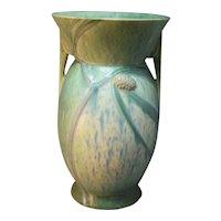 RARE Roseville American Art Pottery Middle-Period Futura Pine Cone Vase
