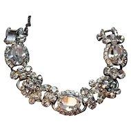Juliana DeLizza & Elster Shimmering Crystal Rhinestone 5-Link Bracelet!