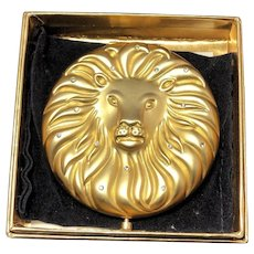 "Estee Lauder Limited Edition ""Leo"" Zociac Compact in Original box/Unused!"
