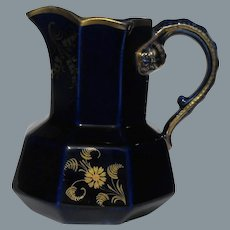Mason's Mazarine Blue Jug English Ironstone Early 19th Century