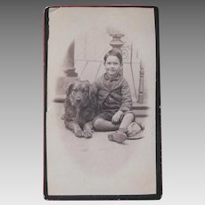 Photograph A Boy and His Dog