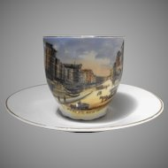 Wheelock German Souvenir China Cup Canal Street New Orleans