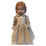 Vintage Daisy Kingdom Pansy 1991 Vinyl Doll
