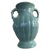 Vintage Green McCoy Pottery Vase