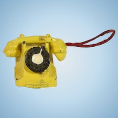 Vintage Doll House Phone, EX