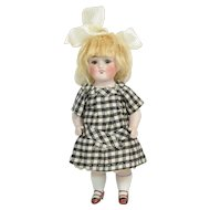 "Kestner All Bisque #150 Doll, 7"" Tall, Ca. 1900-on"
