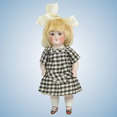 """Kestner All Bisque #150 Doll, 7"""" Tall, Ca. 1900-on"""