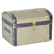 Wooden French Fashion Doll Trunk