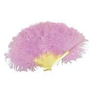 "Feather Fan for French Fashion, 8"" Long"