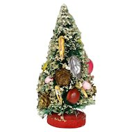 "Vintage Bottle Brush Xmas Tree, Ca. 1950""s"