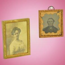 2 Framed Photos for Doll House