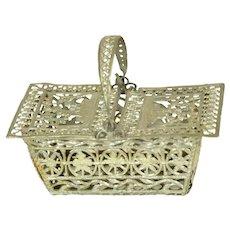 Soft Metal Picnic Basket For French Fashion