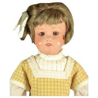 "Schoenhut Miss Dolly, Sleep Eyes, 15 1/2"" tall"