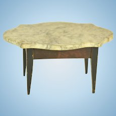 Marble Top Table for Doll House