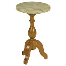 Marble Top Accent Table, Ca. 1900