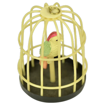 Celluloid Birdcage for Doll House