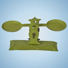 Tin Kitchen Scales for Doll House