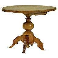 Pedestal table by Gebruder Schneegas, 1865-on