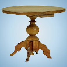 Pedestal table by Gebruder Schneegas, 1865-on