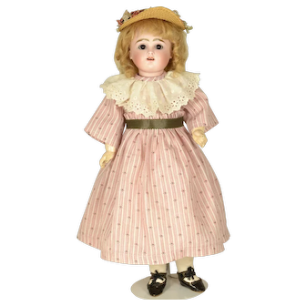 "Early Pouty Kestner, 1880, 16"" tall"