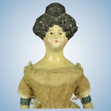 "Milliners' Model: Apollo Knot Hairdo, A/O, 13"" tall"