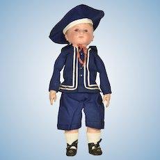 """Martha Chase Boy Doll, 16"""" tall"""