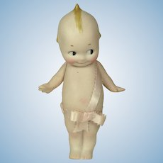"All Bisque Kewpie, 6 1/2"" tall"