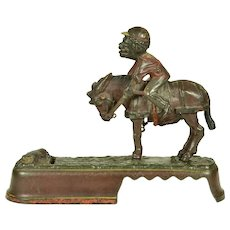 "Mechanical Bank, ""I Always Did 'Spise A Mule"", 1879"