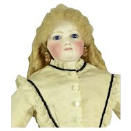 """French Fashion Doll, 16 1/2"""" tall, w/ 2 Outfits"""