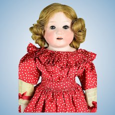 "Heubach Child Doll #275, ca. 1888-on, 20"" tall"
