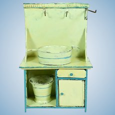 Tin Kitchen Cabinet for Doll House