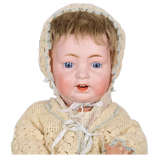 "Character German Baby, 18 1/2"" tall"