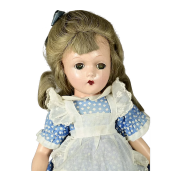 """Composition Alice in Wonderland by Madame Alexander, 14"""" tall"""