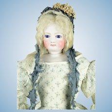 "Jumeau French Fashion Doll, 17"" tall, Antique Clothing"
