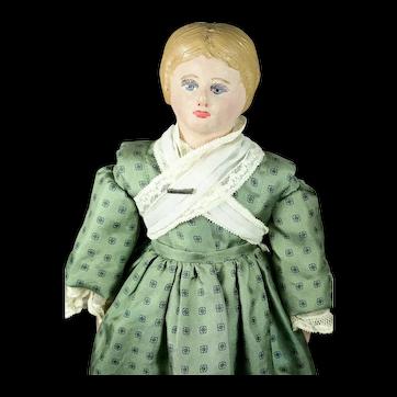 """Martha Chase Lady Doll W/ Original Box, 15"""" tall, EX"""