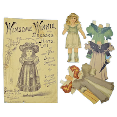 """""""Winsome Winnie"""" by Raphael Tuck & Sons, 1894"""