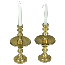 Pair of Candle Brass Side Tables for Doll House