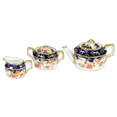Tea Set by Royal Crown Derby for French Fashion