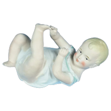 """Position Baby by Gebruder Heubach, 5 1/2"""" long, 1910-on"""