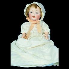 "Kestner #211 Character Baby Doll, 11"" tall"