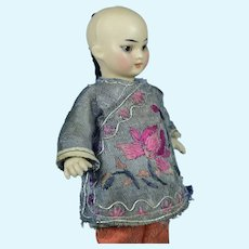 """S & H Oriental All Bisque Child, 5 1/2"""", A/O"""