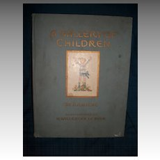 1925 A Gallery Of  Children A A MILNE Illus LE MAIR free p&i US Buyers