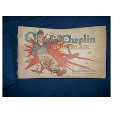 1917 Charlie Chaplin Up In the Air cartoon book E C Segar free P&I U S buyers