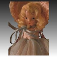 No. 110 Little Miss Sweet Miss bisque storybook doll fee p&i U Buyers